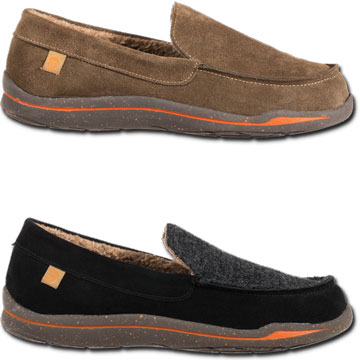 9e2971552a9 Acorn Ellsworth Suede Moc for Men in Black-www.mukluks.com