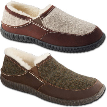 a82e10b3168ca Acorn Rambler Moc for Men in Grey Ragg Wool