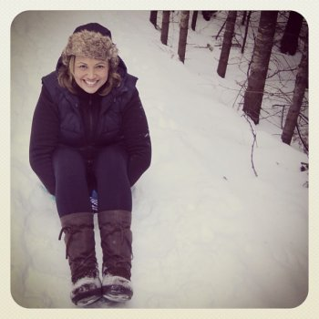 Amy Sue VanDerWerf loves her Steger Mukluks