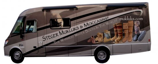 Amy Gossman spotted our Steger Muklukmobile